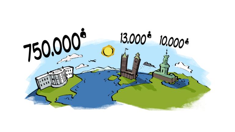 Stomiens verdenskort – Tørre tal, japanske toiletter og muslimske fatwaer