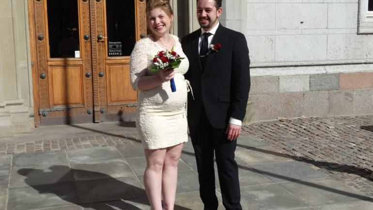 Brylluppet og bryllupskjolen er intet problem